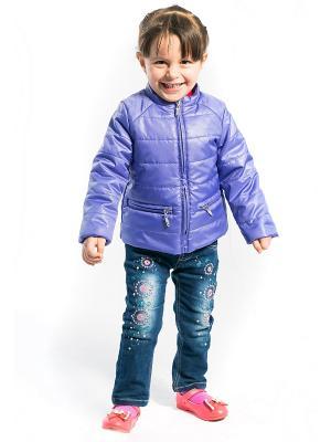 Куртка Слава Аксарт. Цвет: сиреневый