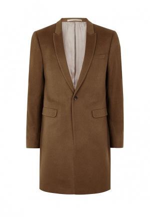 Пиджак Topman. Цвет: коричневый