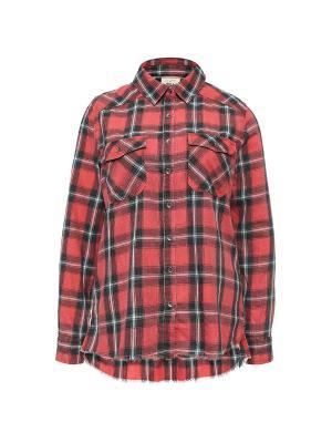 Рубашка ж FLANNEL FRENZY BILLABONG. Цвет: темно-красный
