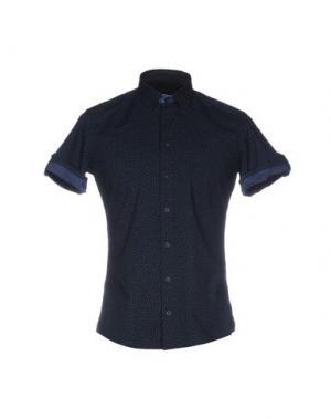 Pубашка SSEINSE. Цвет: темно-синий