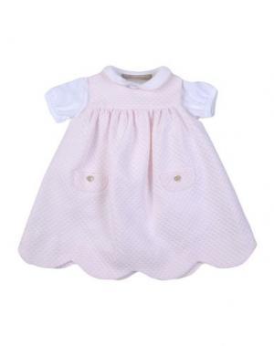 Платье LA STUPENDERIA. Цвет: светло-розовый