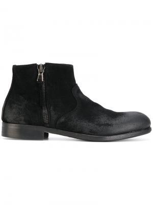 Ботинки на молнии Leqarant. Цвет: чёрный