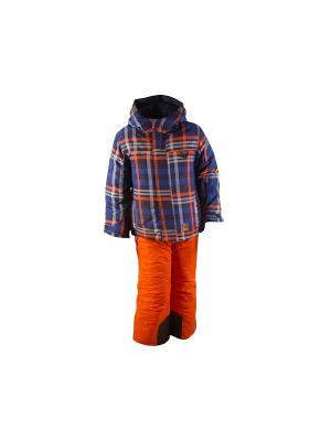 Комплект одежды Phibee. Цвет: синий