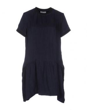 Короткое платье LIBERTINE-LIBERTINE. Цвет: темно-синий