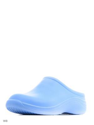 Галоши ANRA. Цвет: голубой