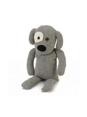 Игрушка-грелка Собачка Чарли Warmies. Цвет: серый