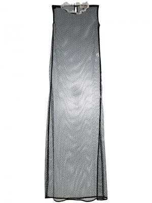 Платье Cage Murmur. Цвет: чёрный