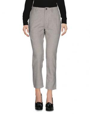 Повседневные брюки PUBLISH. Цвет: серый