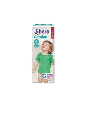 Libero Подгузники детские Комфорт экстра лардж 12-22кг 52шт упаковка мега. Цвет: белый