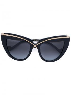 Солнцезащитные очки Lusciosness Anna Karin Karlsson. Цвет: чёрный