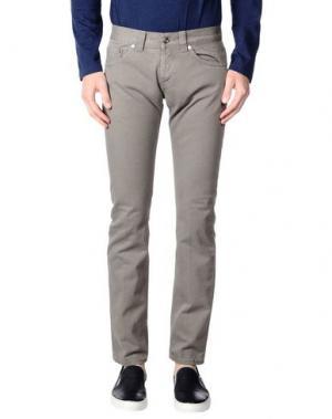 Джинсовые брюки DONDUP. Цвет: серый