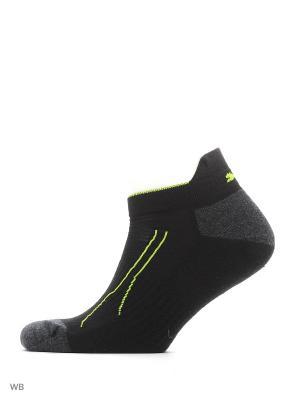 Носки PUMA CELL TRAIN SNEAKER 2P. Цвет: черный