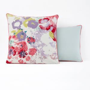 Наволочка с рисунком PSYCHÉ FLOWER La Redoute Interieurs. Цвет: рисунок цветочный акварельный
