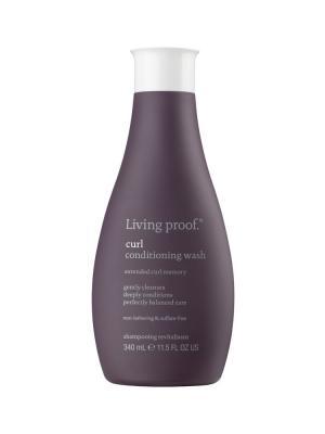 Кондиционер моющий для кудрявых волос Living Proof. Цвет: фиолетовый