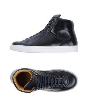 Высокие кеды и кроссовки MR.HARE. Цвет: темно-синий