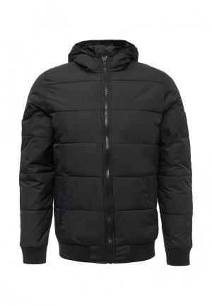 Куртка утепленная Solid. Цвет: черный