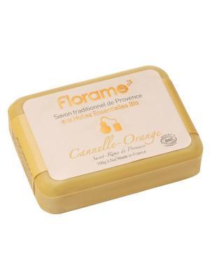 Florame Мыло  Корица - Апельсин , Полимерная Упаковка 100 Г. Цвет: оранжевый