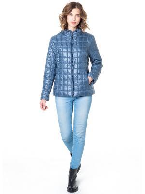Куртка CATTAIL WILLOW. Цвет: серо-голубой