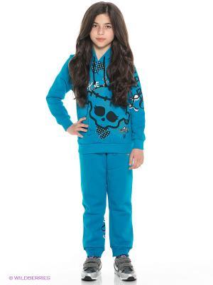 Брюки Monster High. Цвет: голубой