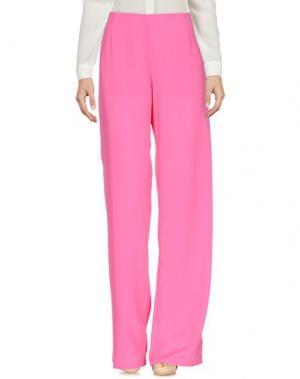 Повседневные брюки CAPSULE. Цвет: фуксия