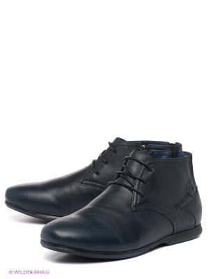 Ботинки MILANA. Цвет: темно-синий