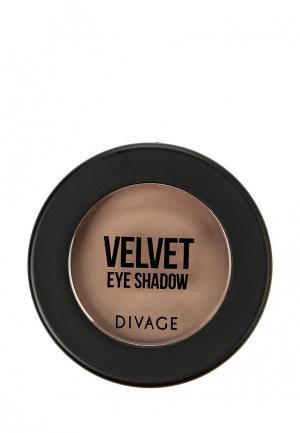 Тени для век Divage. Цвет: коричневый