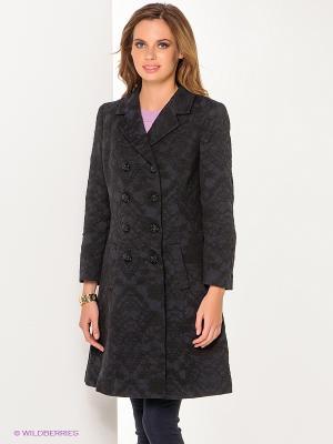 Пальто COMPAGNIA ITALIANA. Цвет: темно-синий, черный