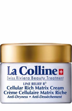 Обогащенный крем с клеточным комплексом La Colline. Цвет: бесцветный