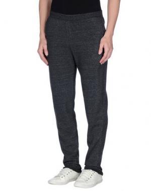 Повседневные брюки ALTERNATIVE EARTH. Цвет: стальной серый