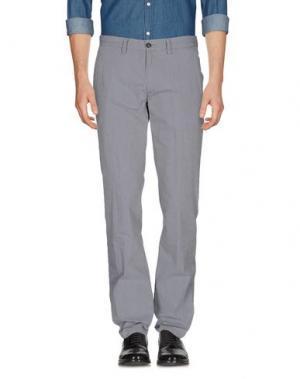 Повседневные брюки C.P. COMPANY. Цвет: серый