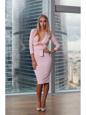 Костюм Lipinskaya Brand. Цвет: бледно-розовый