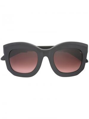 Солнцезащитные очки Mask B2 BM Kuboraum. Цвет: чёрный
