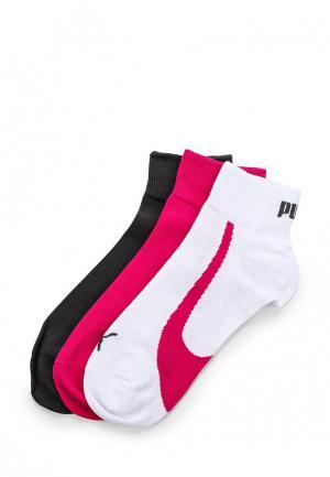 Комплект носков 3 пары Puma. Цвет: разноцветный
