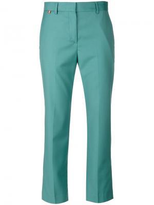 Укороченные брюки Paul Smith. Цвет: зелёный