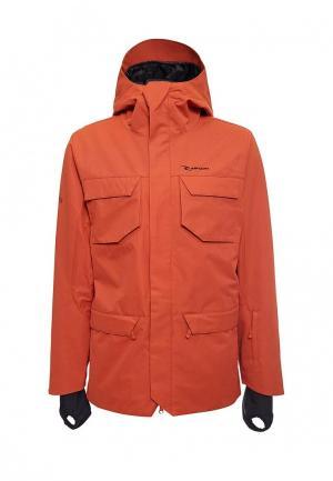 Куртка горнолыжная Rip Curl. Цвет: оранжевый