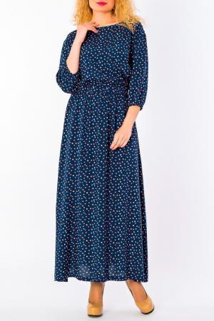 Платье S&A style. Цвет: сине-оранжевый