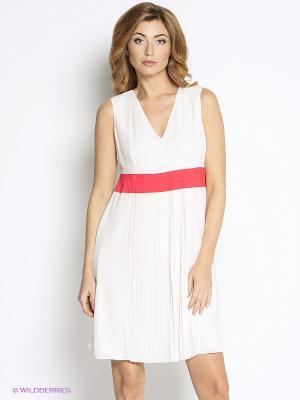 Платье Oltre. Цвет: кремовый