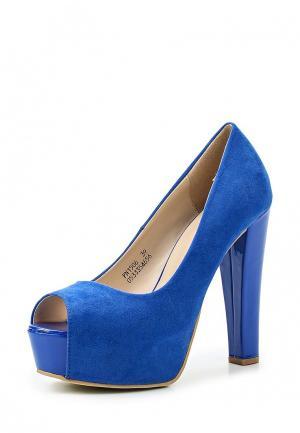 Туфли Catisa. Цвет: синий