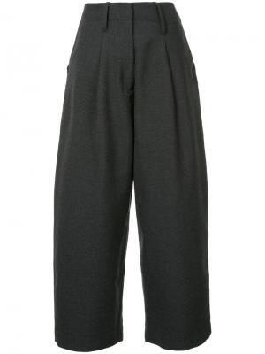 Широкие брюки Studio Nicholson. Цвет: серый