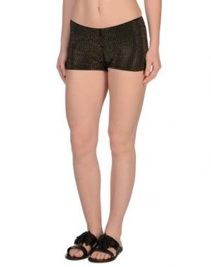 Пляжные брюки и шорты FISICO. Цвет: черный