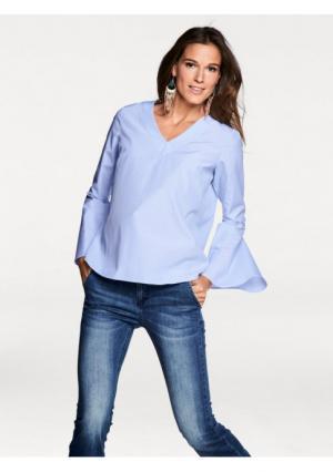 Блузка RICK CARDONA by Heine. Цвет: белый/голубой, белый/розовый