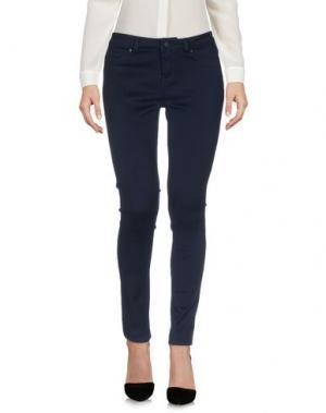 Повседневные брюки LAB DIP #39. Цвет: темно-синий