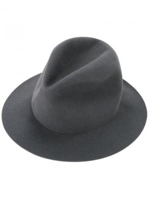 Шляпа Takahiromiyashita The Soloist. Цвет: серый