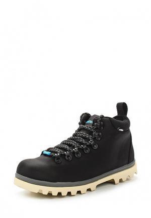 Ботинки Native. Цвет: черный