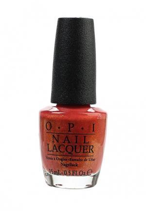 Лак для ногтей O.P.I. Цвет: красный