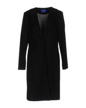 Пальто ANONYME DESIGNERS. Цвет: черный