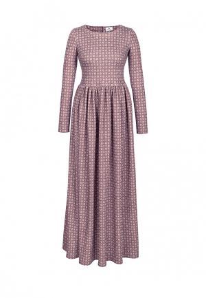 Платье Bella Kareema. Цвет: коричневый