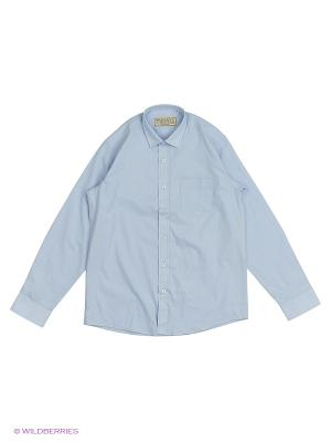 Рубашка Tsarevich. Цвет: серо-голубой, серый