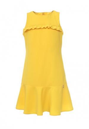 Платье Patrizia Pepe. Цвет: желтый