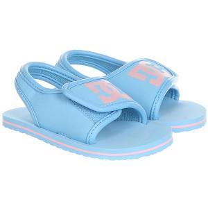 Сандалии детские DC Bolsa T Blue/Pink Shoes. Цвет: голубой,розовый